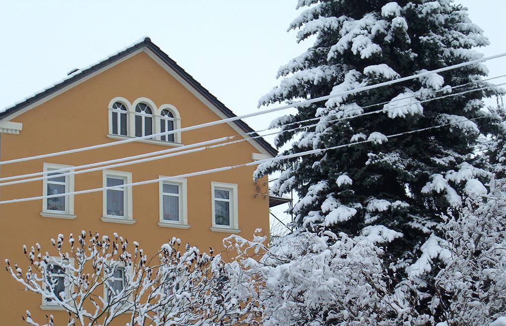 Fassade in Seeligstadt