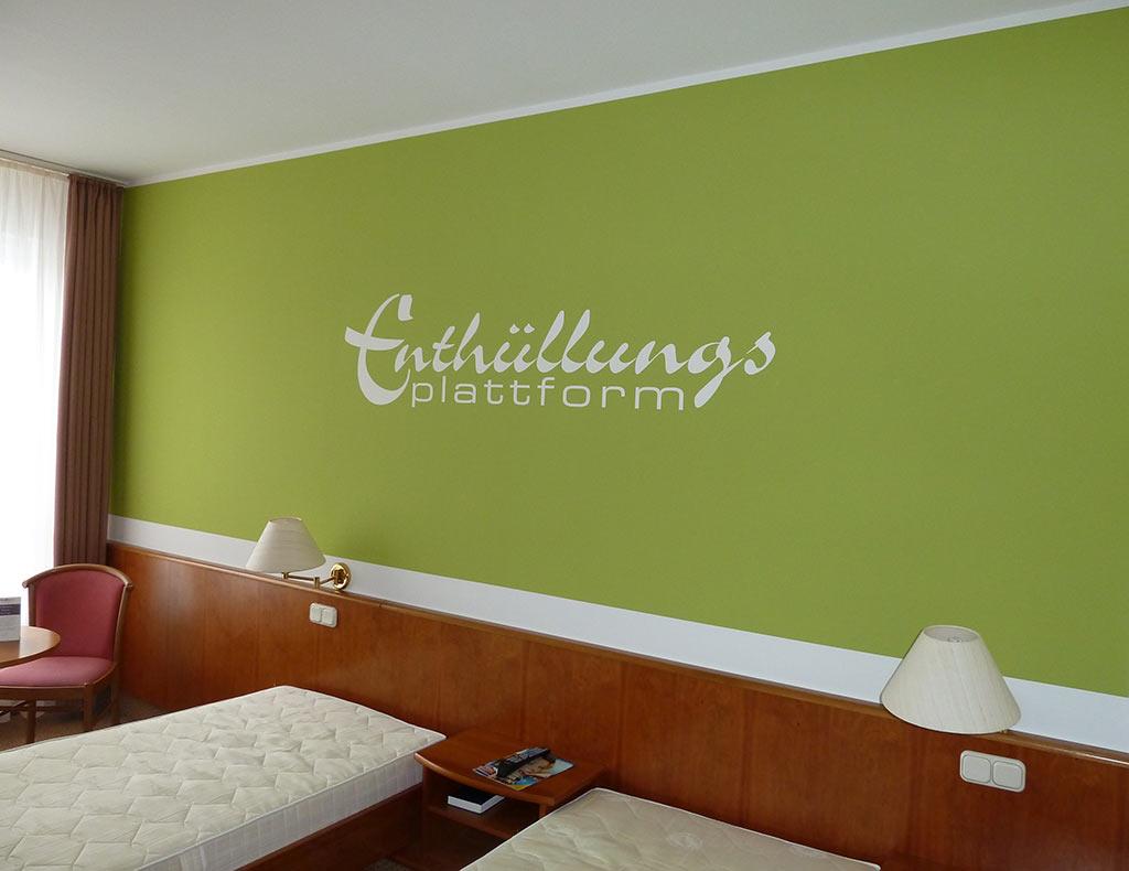 Wandgestaltung Hotel Radeberg