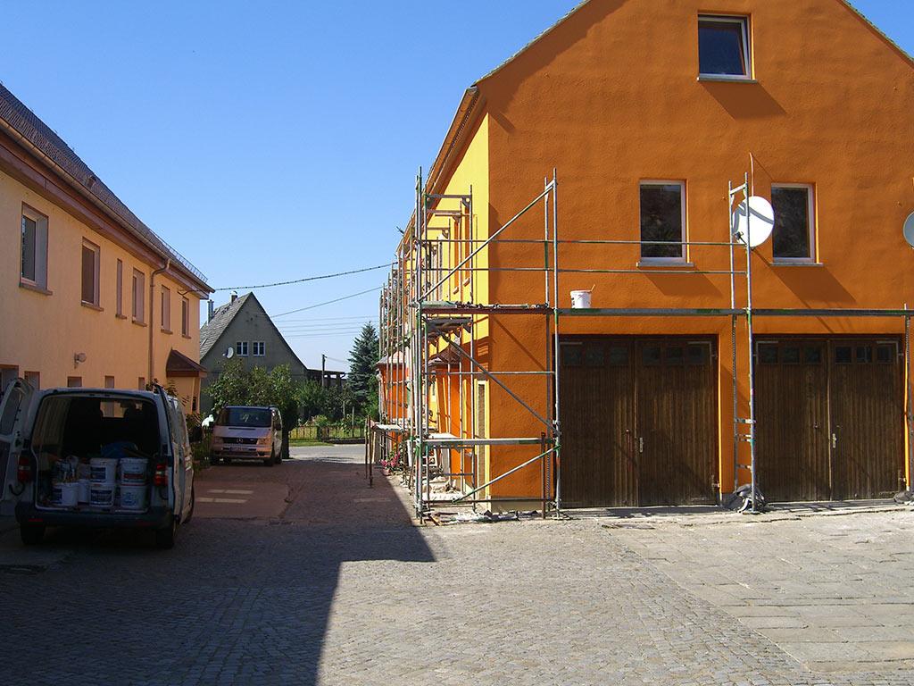 Fassadenanstrich in Kleinwolmsdorf