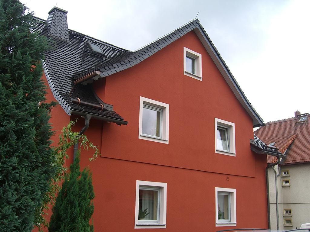 Fassadengestaltung in Cunewalde