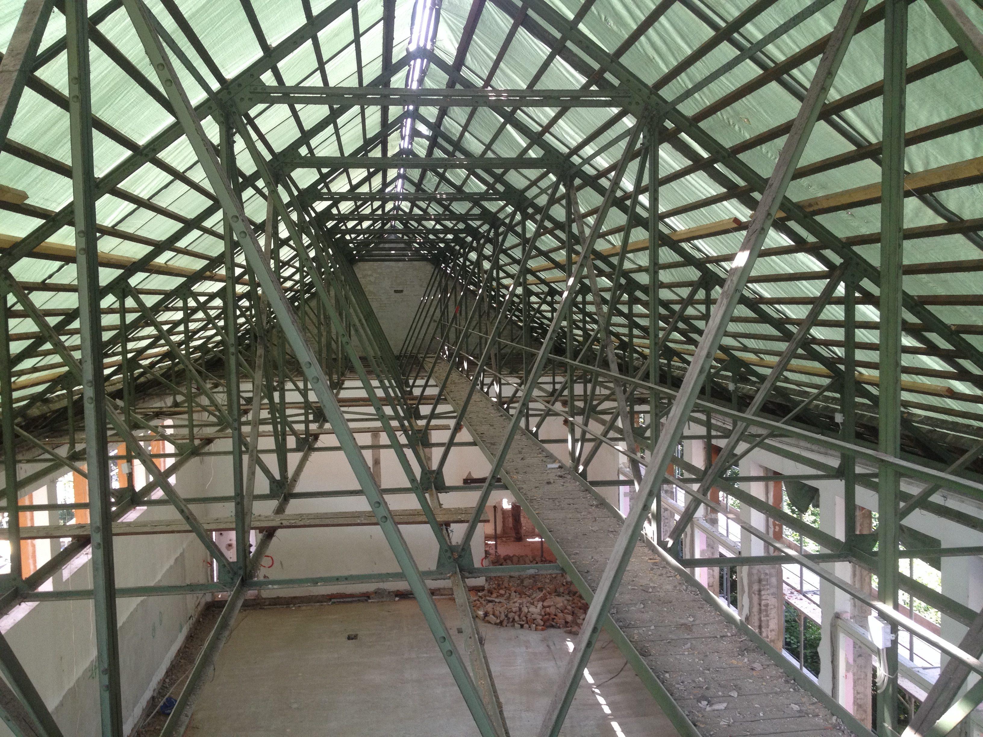 Sporthalle Korrossionsschutz Gymnasium Bürgerwiese