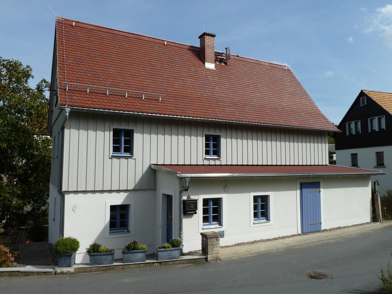 Holzgestaltung Umgebindehaus Schöna
