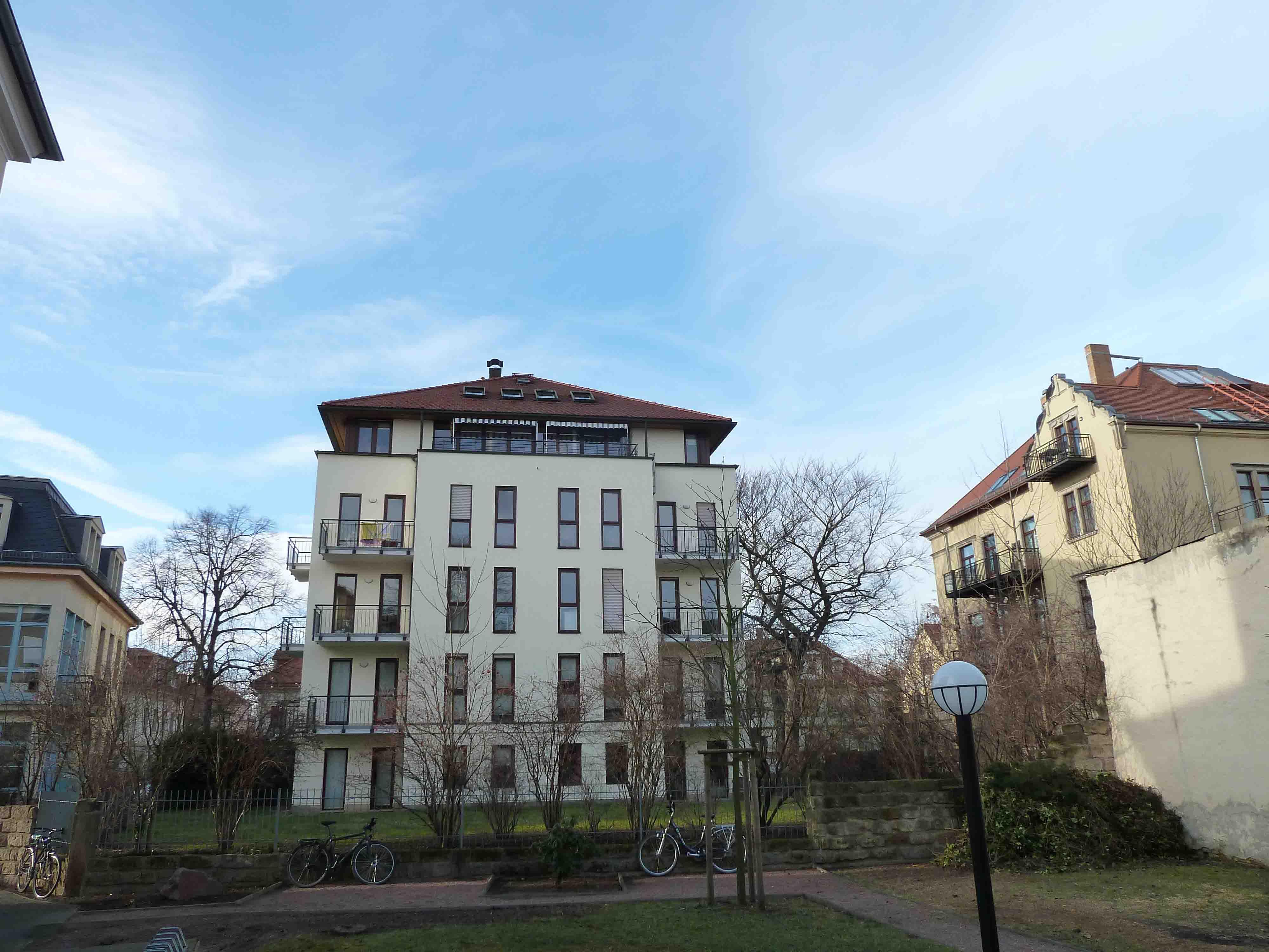 Fassade Wittenberger Straße, Dresden